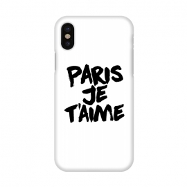 iPhone X  Paris, Je t'aime by Mitxel Gonzalez (paris,love,amour,france,fashion)