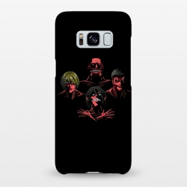 Galaxy S8+  Titan Rhapsody by Samiel Art (Samiel,samielart,attack on titan,shingeki no kyojin,queen,bohemian rhapsody,rock,music,anime,manga,female titan,eren jaeger,colossal titan,armored titan)