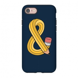 iPhone 8/7  ampersand pencil by Coffee Man ()