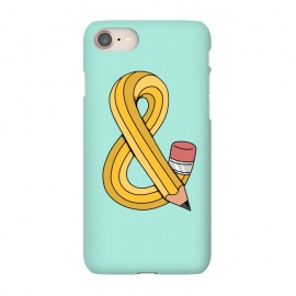 iPhone 8/7  Ampersand Pencil Green by Coffee Man