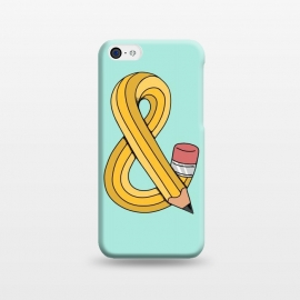 iPhone 5C  Ampersand Pencil Green by Coffee Man
