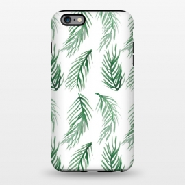 iPhone 6/6s plus  Watercolor Palm Leaves by ALIPRINTS Design Studio