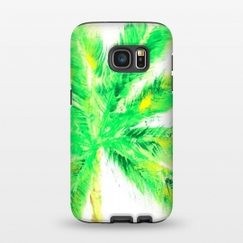 Galaxy S7  Tropical Palm  by ALIPRINTS Design Studio