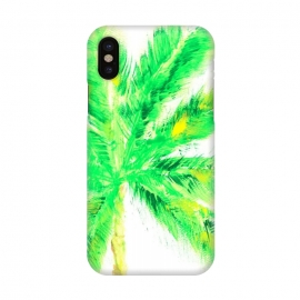 iPhone X  Tropical Palm  by ALIPRINTS Design Studio