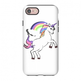 iPhone 8/7  Unicorn Pride by MUKTA LATA BARUA (unicorn,rainbow,magical,dream,trend,fashion,white,clouds)
