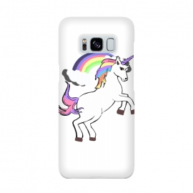 Unicorn Pride by MUKTA LATA BARUA (unicorn,rainbow,magical,dream,trend,fashion,white,clouds)