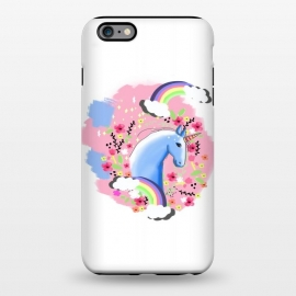 iPhone 6/6s plus  Floral Unicorn by MUKTA LATA BARUA