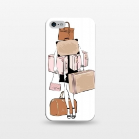iPhone 5/5E/5s  Woman with luggage by Martina