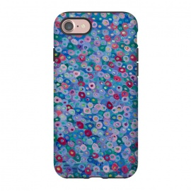 iPhone 8/7  Blue Hues by Helen Joynson (fun,foral)