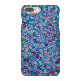 iPhone 8/7 plus  Blue Hues by Helen Joynson (fun,foral)