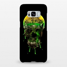 Galaxy S8+  Haunted Skull by Riza Peker
