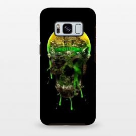 Galaxy S8 plus  Haunted Skull by  (skull,skeleton,horror,art,design,cool)