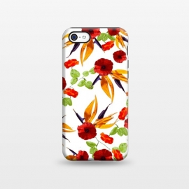 iPhone 5C  Mini Poppy Star by Zala Farah