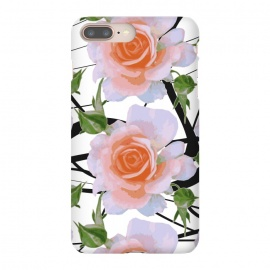 iPhone 8/7 plus  Swiggles + Florals by Zala Farah