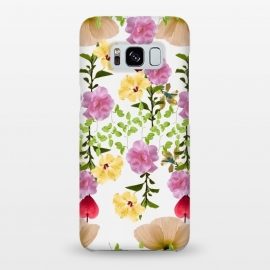 Galaxy S8+  Colorful Flower Collage by Zala Farah