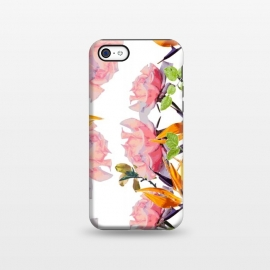 iPhone 5C  Lush Watercolor Florals by Zala Farah