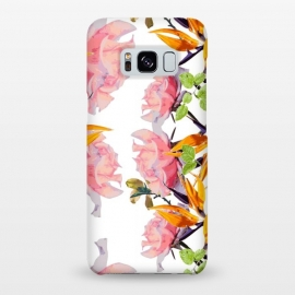Galaxy S8+  Lush Watercolor Florals by Zala Farah