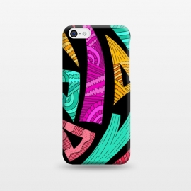 iPhone 5C  Shapes and Patterns by Steve Wade (Swade)