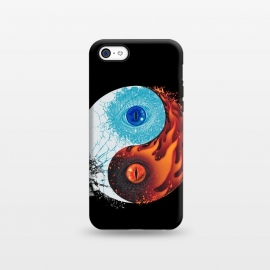 iPhone 5C  Ice and Fire by Branko Ricov