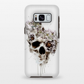 Galaxy S8+  Skull Castle II by Riza Peker (skulls,collage,surrealism,digital,art,natural,colors,artist,design)