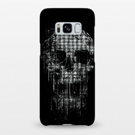 Galaxy S8+  Cool Splatter Skull by Branko Ricov