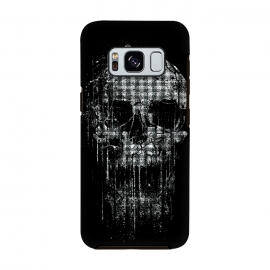 Galaxy S8  Cool Splatter Skull by Branko Ricov