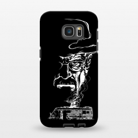 Galaxy S7 EDGE  Heisenberg Smoke by Branko Ricov