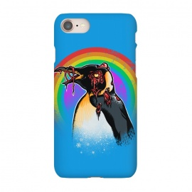 iPhone 8/7  Zombie Penguin by Branko Ricov