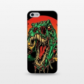iPhone 5/5E/5s  Zombie T-Rex by Branko Ricov