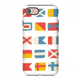 iPhone 8/7  Nautical Flags by Michelle Parascandolo