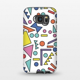 Galaxy S7  90s Geometric Fantasy by Michael Cheung