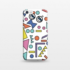 iPhone 5C  90s Geometric Fantasy by Michael Cheung