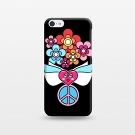 iPhone 5C  LOVE AND PEACE by Michael Cheung