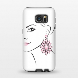 Galaxy S7  Earring Lady by Martina