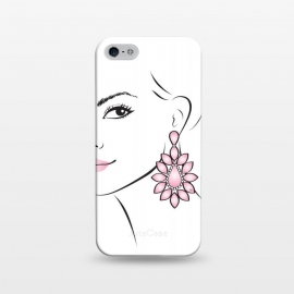 iPhone 5/5E/5s  Earring Lady by Martina