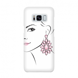 Galaxy S8  Earring Lady by Martina