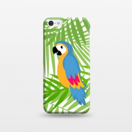 Cute colourful parrot by Martina