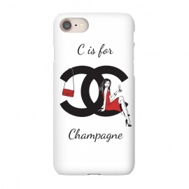 iPhone 8/7  Chanel Champagne by Martina