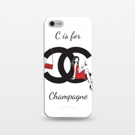 iPhone 5/5E/5s  Chanel Champagne by Martina
