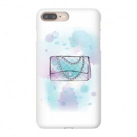 iPhone 8/7 plus  Watercolour Chanel handbag by Martina