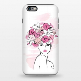 iPhone 6/6s plus  Flower Crown Girl by Martina