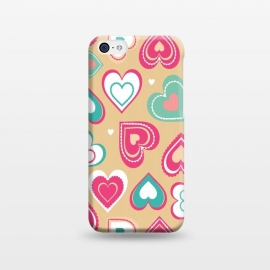 iPhone 5C  Love Hearts by Martina