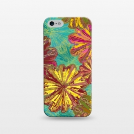 iPhone 5/5E/5s  Poppytops by Lotti Brown