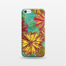 iPhone 5C  Poppytops by Lotti Brown
