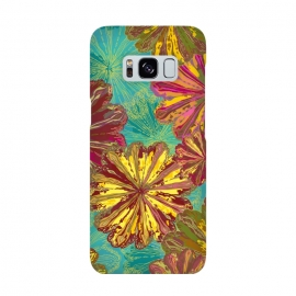Galaxy S8  Poppytops by Lotti Brown