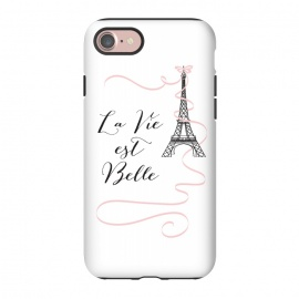 iPhone 8/7  Eiffel Tower Quote by Martina