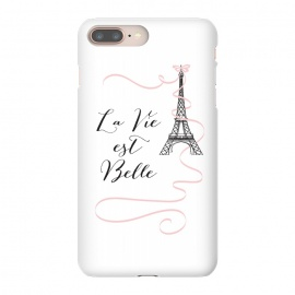iPhone 8/7 plus  Eiffel Tower Quote by Martina