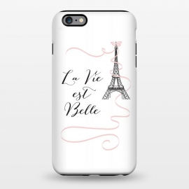 iPhone 6/6s plus  Eiffel Tower Quote by Martina