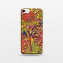 iPhone 5C  Sunflowers by Lotti Brown