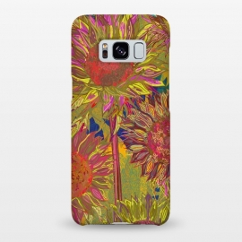 Galaxy S8+  Sunflowers by Lotti Brown